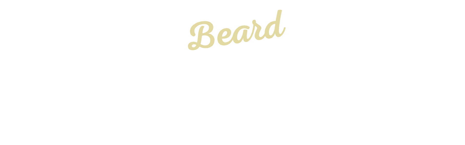Beard Home Slider